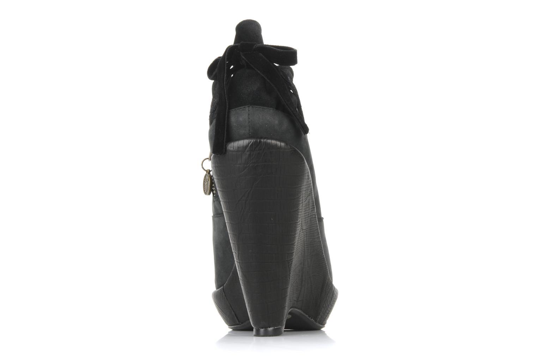 Bottines et boots Feud Brit Noir vue droite