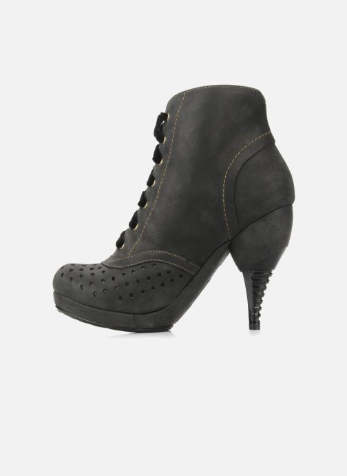 Bottines et boots Feud Beckon Noir vue face