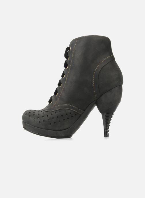 Stiefeletten & Boots Feud Beckon schwarz ansicht von vorne