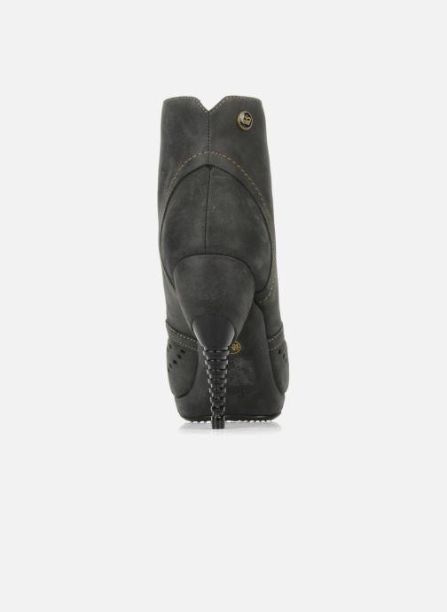 Bottines et boots Feud Beckon Noir vue droite