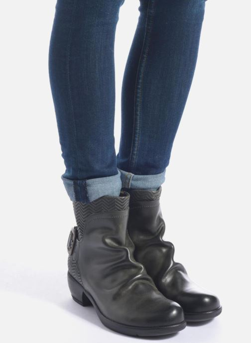 0c65f19a9b648 Ankle boots Fly London Mel Black view from underneath / model view