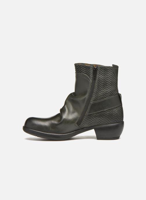 Bottines et boots Fly London Mel Noir vue face