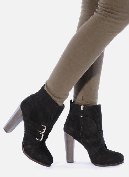 Bottines et boots Miezko Minko Noir vue bas / vue portée sac