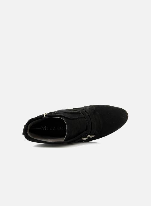 Bottines et boots Miezko Minko Noir vue gauche