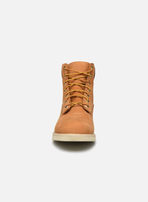 Bottines et boots Timberland 6 in wedge Marron vue portées chaussures