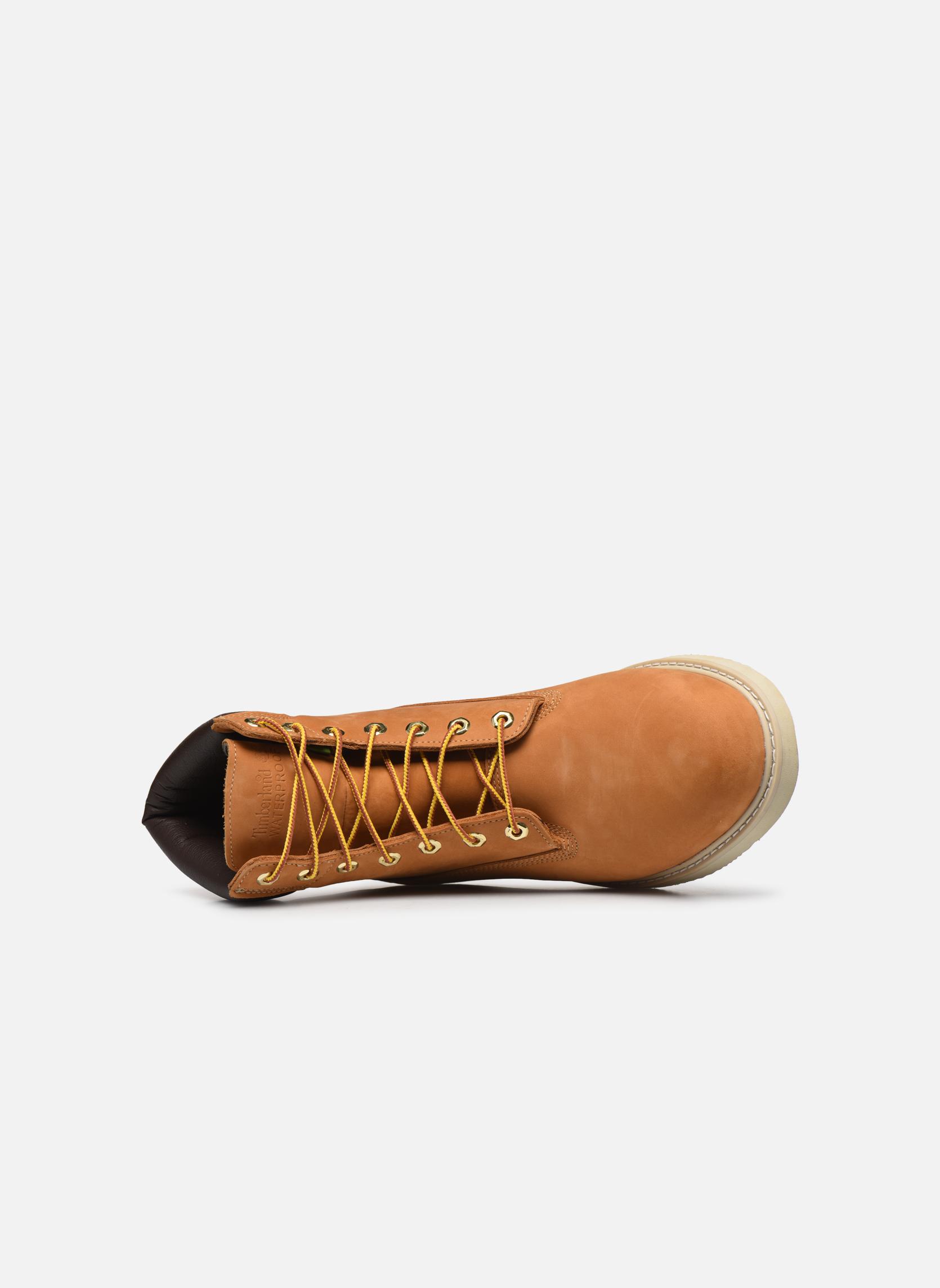 Bottines et boots Timberland 6 in wedge Marron vue gauche