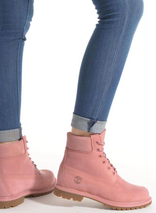 Botines  Timberland 6 in premium boot w Negro vista de abajo