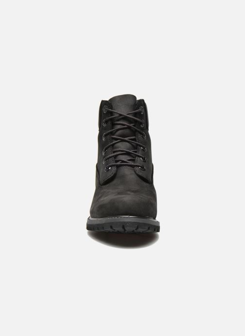 Stivaletti e tronchetti Timberland 6 in premium boot w Nero modello indossato