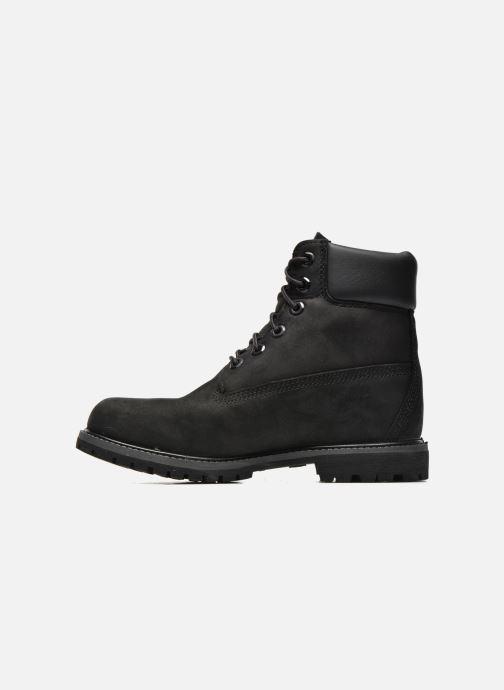 Boots en enkellaarsjes Timberland 6 in premium boot w Zwart voorkant