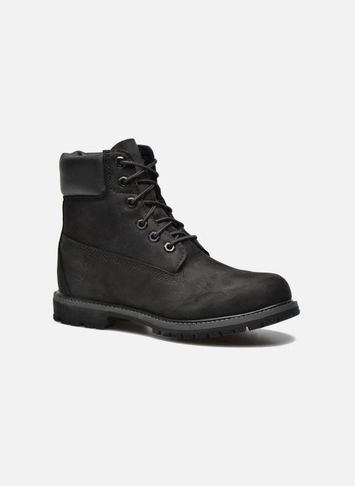 Botines  Timberland 6 in premium boot w Negro vista de detalle / par