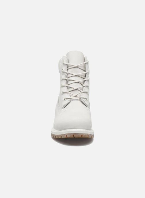 Stiefeletten & Boots Timberland 6 in premium boot w grau schuhe getragen