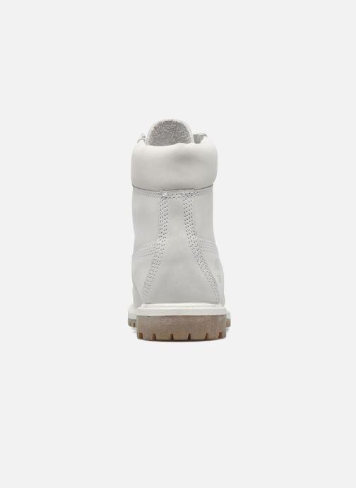 Botines  Timberland 6 in premium boot w Gris vista lateral derecha