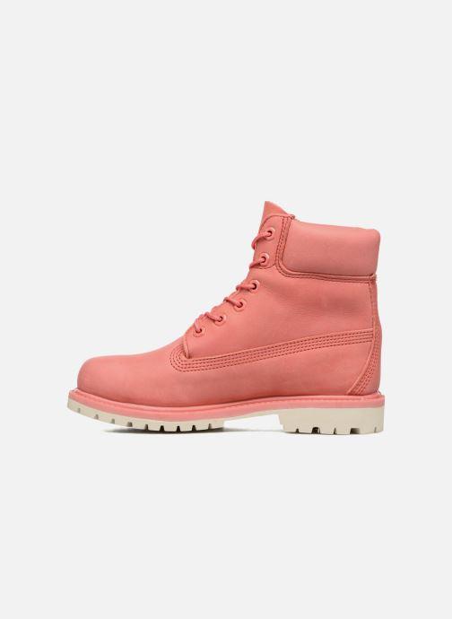 Boots en enkellaarsjes Timberland 6 in premium boot w Roze voorkant