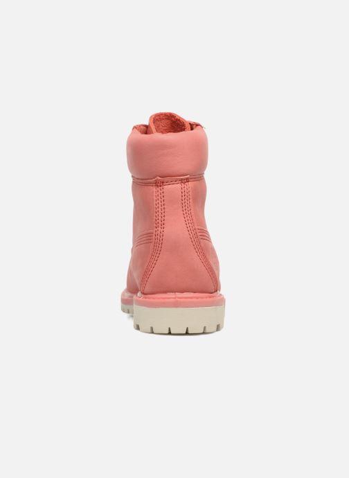 Boots en enkellaarsjes Timberland 6 in premium boot w Roze rechts