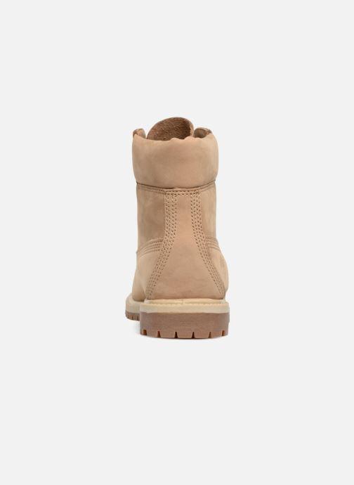 Boots en enkellaarsjes Timberland 6 in premium boot w Beige rechts