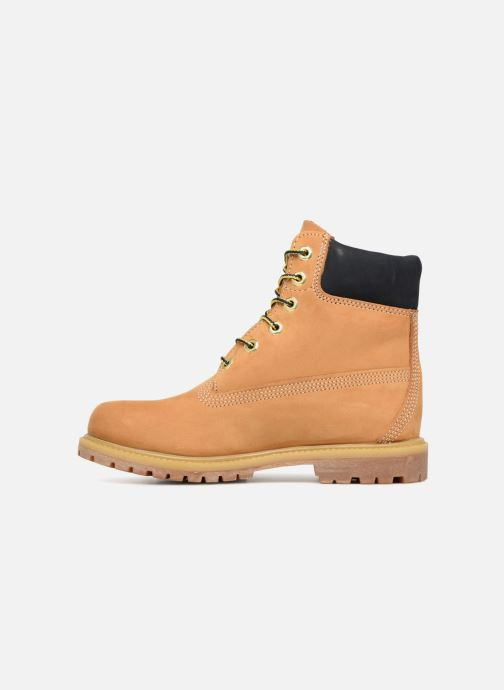 Boots en enkellaarsjes Timberland 6 in premium boot w Geel voorkant