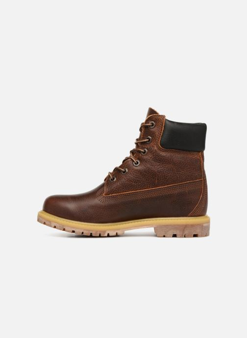 Ankle boots Timberland 6 in premium boot w Brown front view
