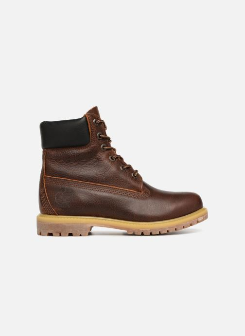 Ankle boots Timberland 6 in premium boot w Brown back view