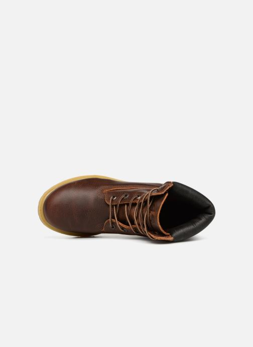 Ankle boots Timberland 6 in premium boot w Brown view from the left