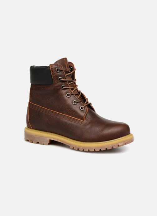 Ankle boots Timberland 6 in premium boot w Brown detailed view/ Pair view