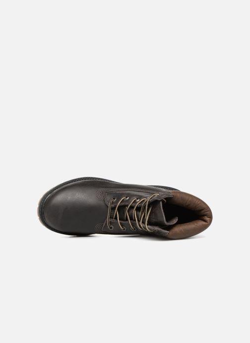 Botines  Timberland 6 in premium boot w Negro vista lateral izquierda