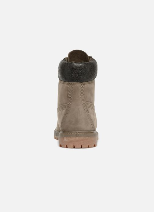 Bottines et boots Timberland 6 in premium boot w Marron vue droite