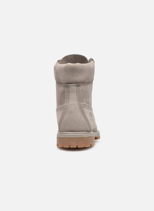 Stivaletti e tronchetti Timberland 6 in premium boot w Grigio immagine destra