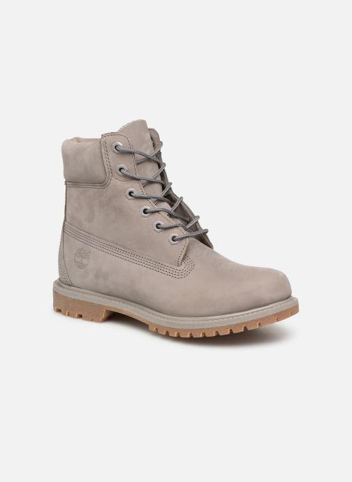 Bottines et boots Timberland 6 in premium boot w Gris vue détail/paire