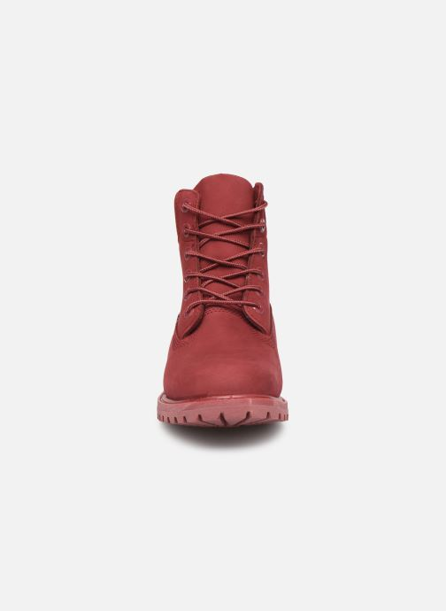 Ankle boots Timberland 6 in premium boot w Burgundy model view