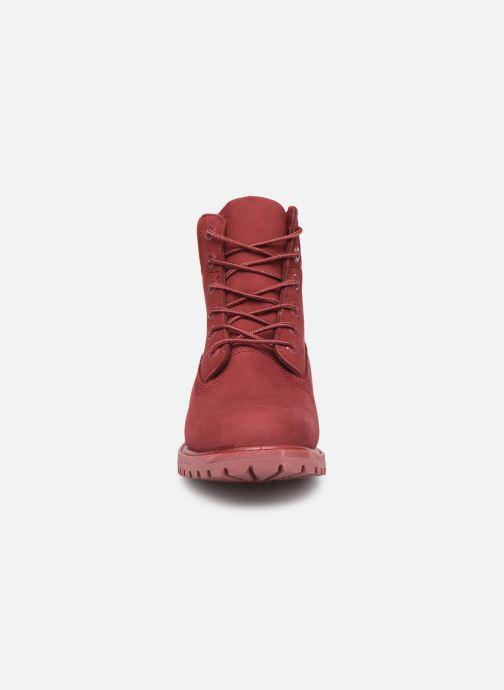 Bottines et boots Timberland 6 in premium boot w Bordeaux vue portées chaussures