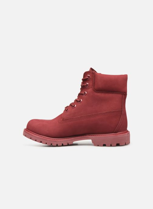 Ankle boots Timberland 6 in premium boot w Burgundy front view
