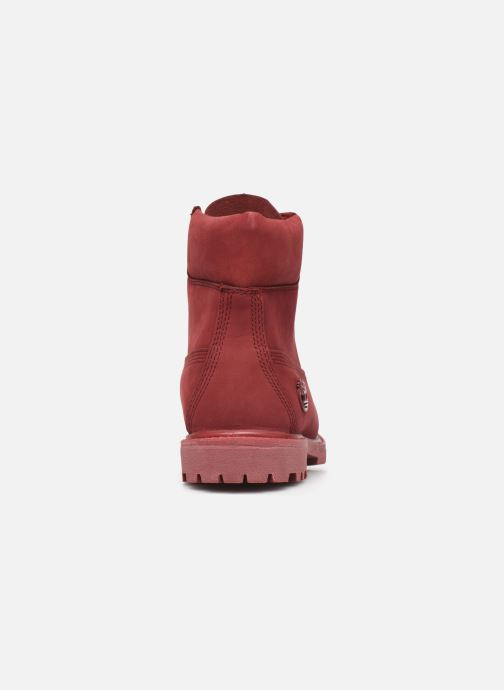 Ankle boots Timberland 6 in premium boot w Burgundy view from the right