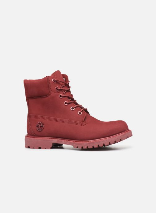 Ankle boots Timberland 6 in premium boot w Burgundy back view
