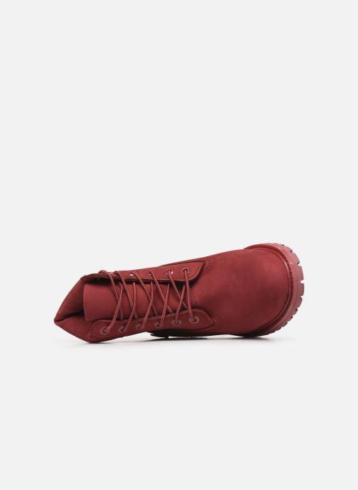 Bottines et boots Timberland 6 in premium boot w Bordeaux vue gauche