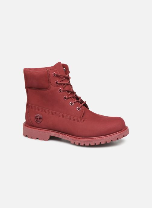 Ankle boots Timberland 6 in premium boot w Burgundy detailed view/ Pair view