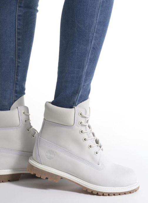 Bottines et boots Timberland 6 in premium boot w Jaune vue bas / vue portée sac