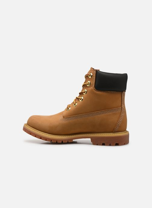 Ankle boots Timberland 6 in premium boot w Yellow front view