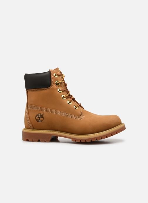 Ankle boots Timberland 6 in premium boot w Yellow back view