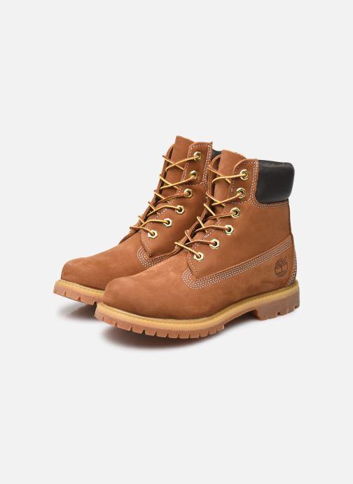 Bottines et boots Timberland 6 in premium boot w Marron vue bas / vue portée sac