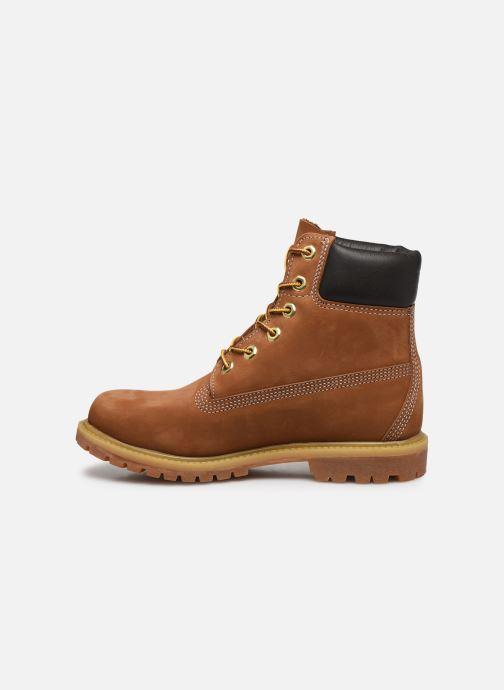 Stivaletti e tronchetti Timberland 6 in premium boot w Marrone immagine frontale