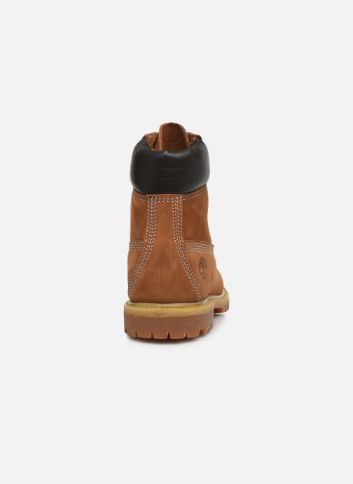 Ankle boots Timberland 6 in premium boot w Brown view from the right