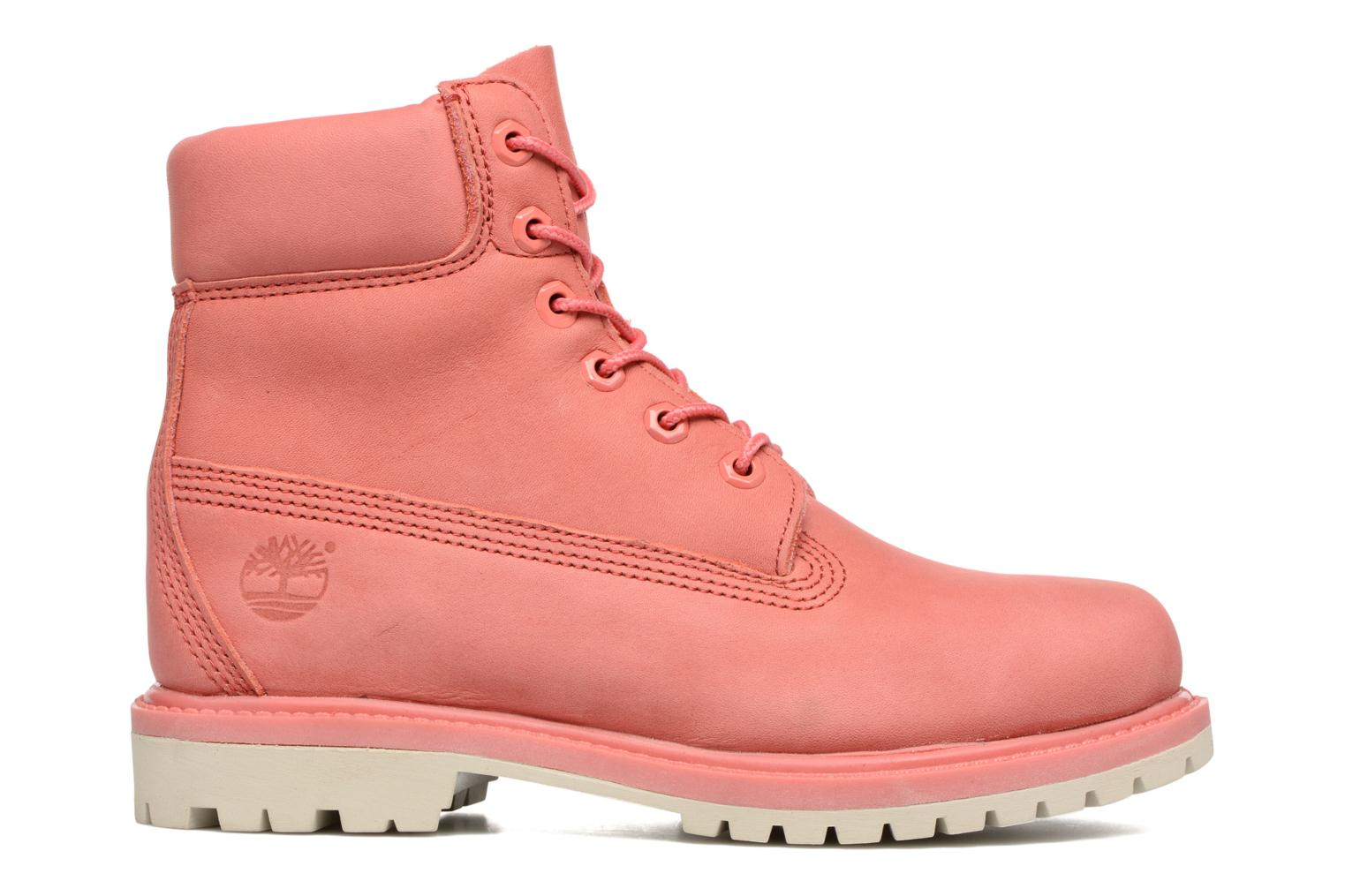 Bottines et boots Timberland 6 in premium boot w Rose vue derrière