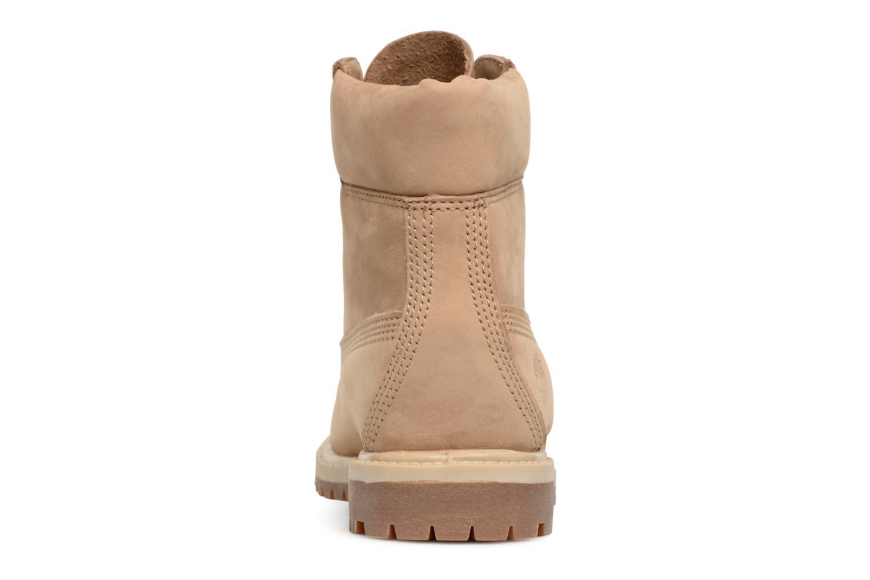 Bottines et boots Timberland 6 in premium boot w Beige vue droite