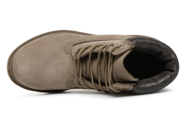 Bottines et boots Timberland 6 in premium boot w Vert vue gauche