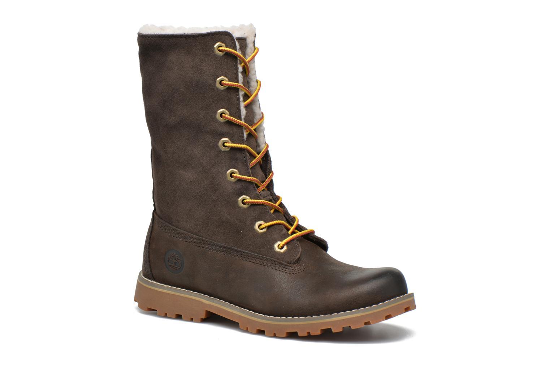 Stiefeletten & Boots Timberland 6 In Waterproof Shearling Boot grün 3 von 4 ansichten