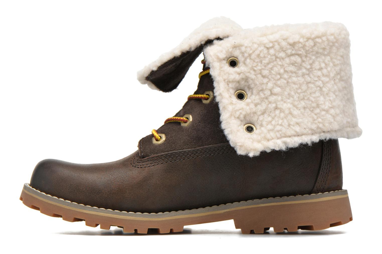 Stiefeletten & Boots Timberland 6 In Waterproof Shearling Boot grün ansicht von vorne