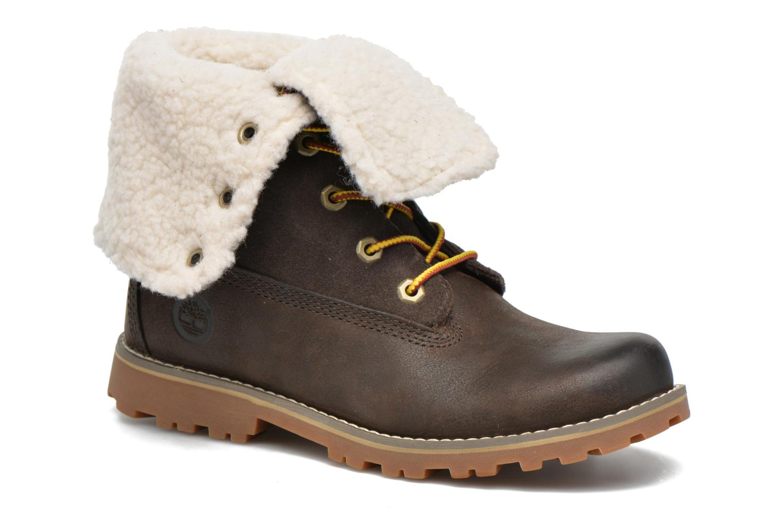 Stiefeletten & Boots Timberland 6 In Waterproof Shearling Boot grün detaillierte ansicht/modell