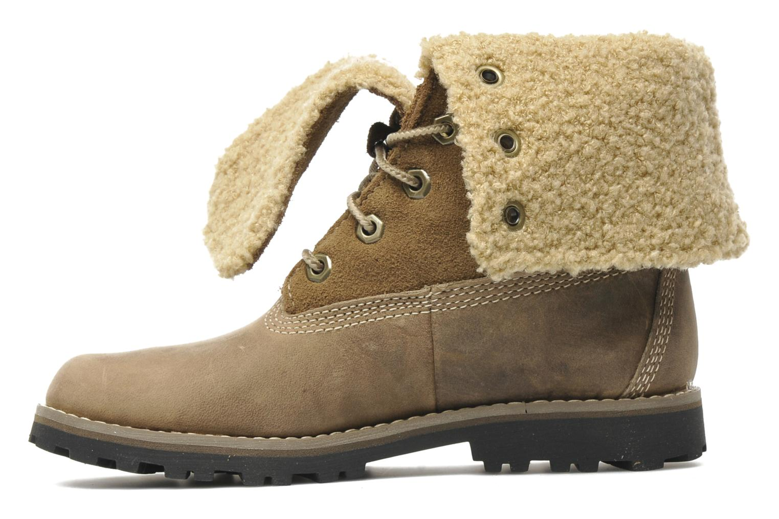 Bottines et boots Timberland 6 In Waterproof Shearling Boot Beige vue face