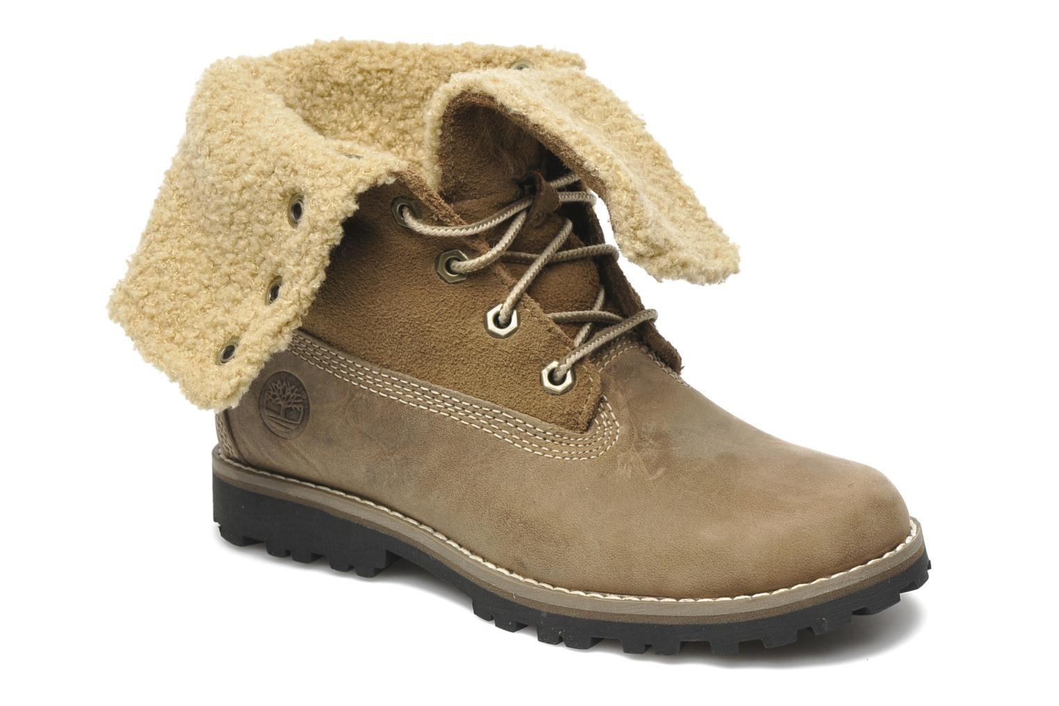 Bottines et boots Timberland 6 In Waterproof Shearling Boot Beige vue détail/paire