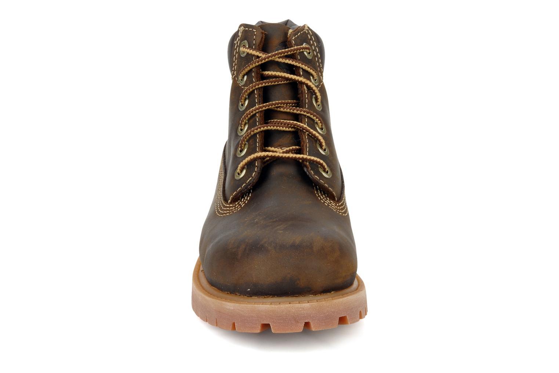 Bottines et boots Timberland 6 In Waterproof Boot Marron vue portées chaussures